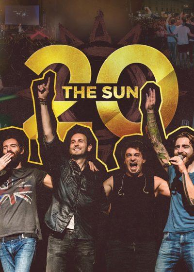 the sun rock band 20 anni nuovo spettacolo