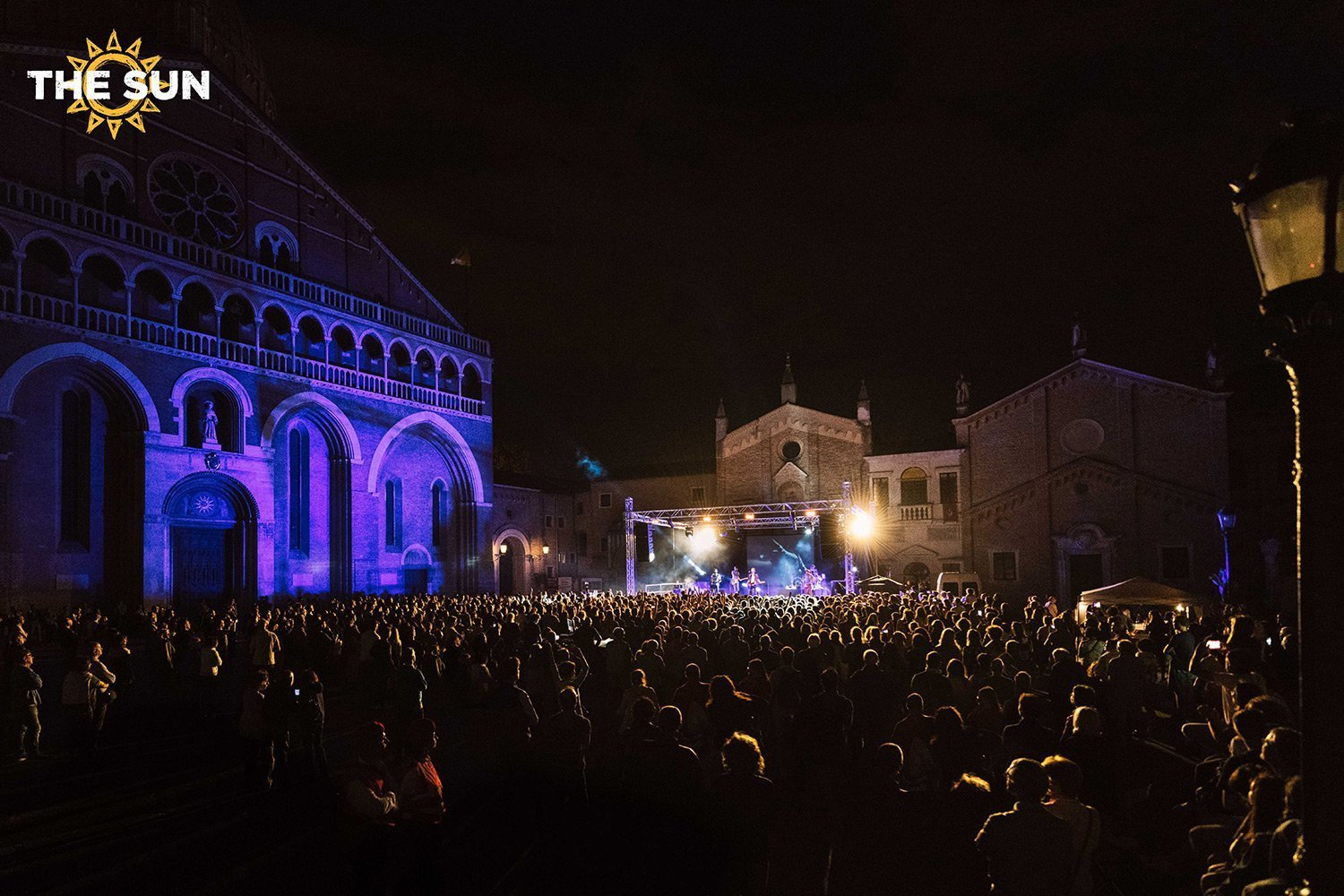 the sun rock band live padova basilica di sant'antonio