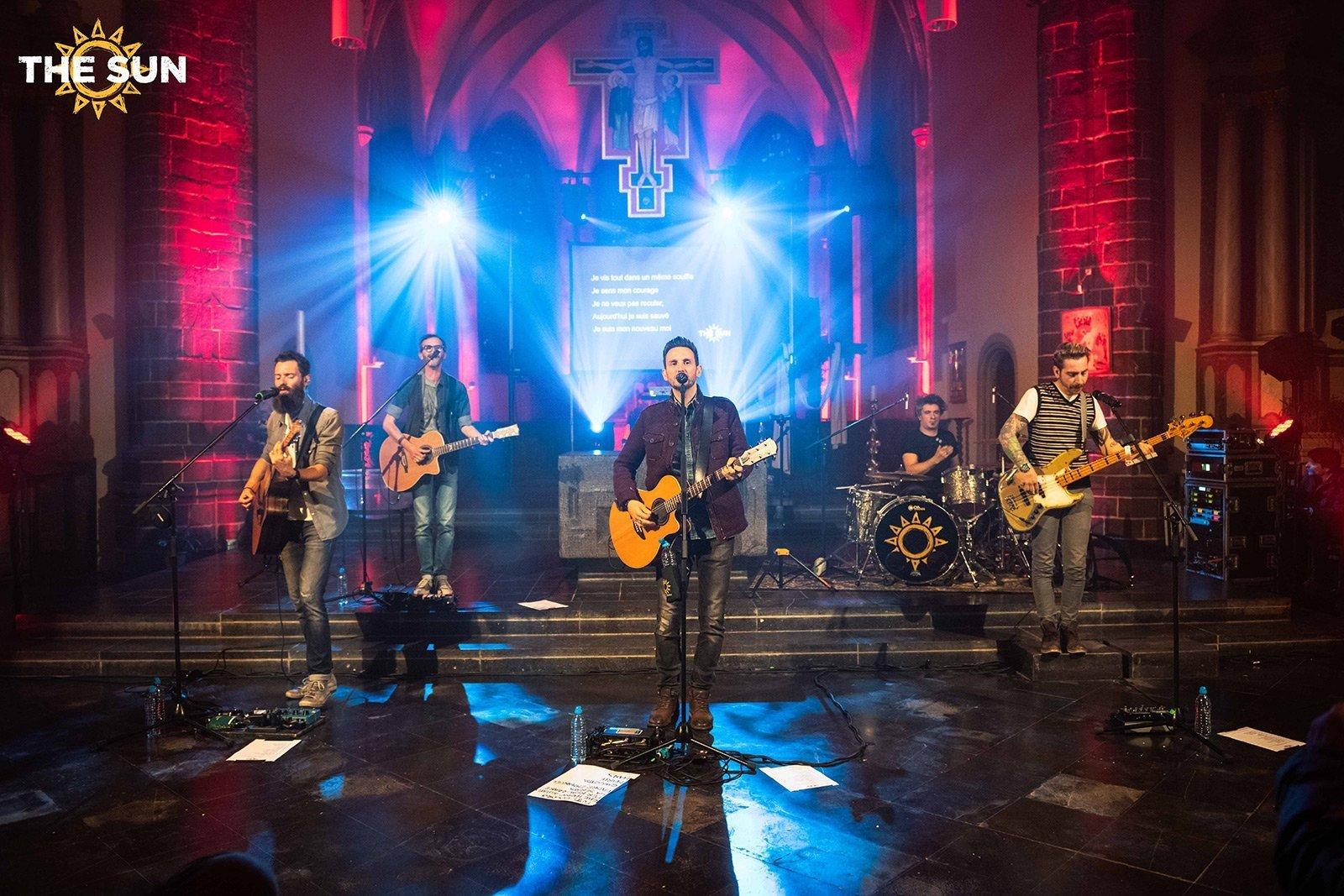 the sun rock band live wavre belgio