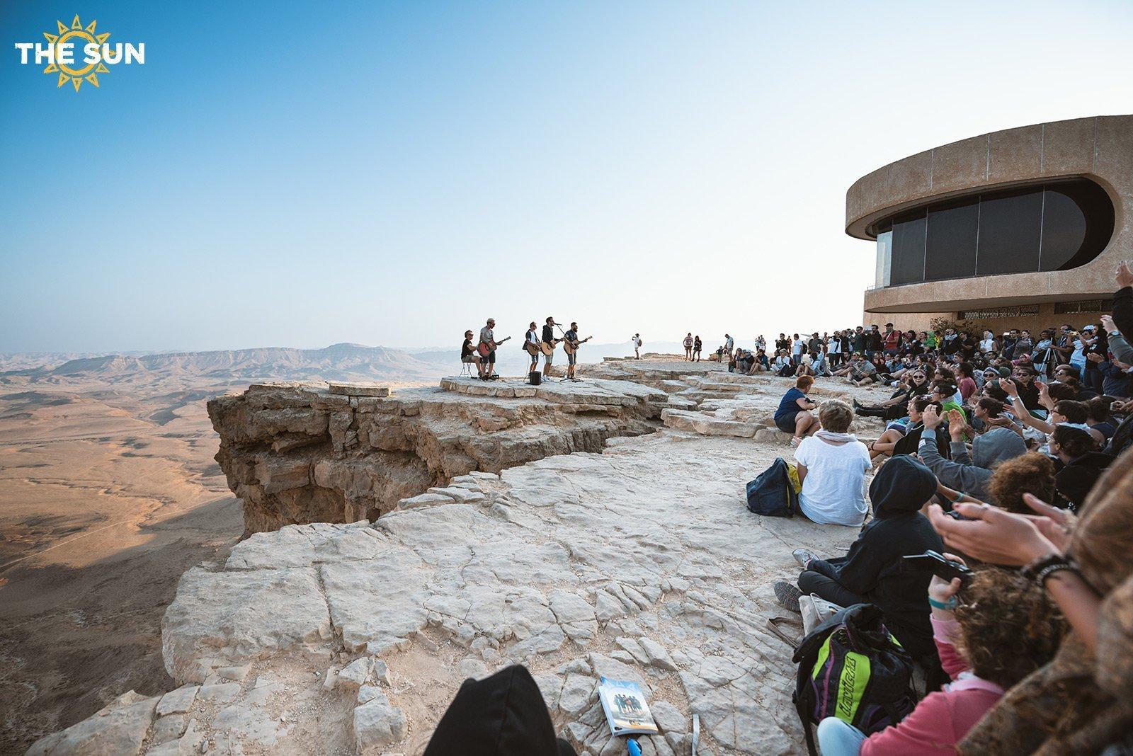 the sun rock band terra santa deserto del negev